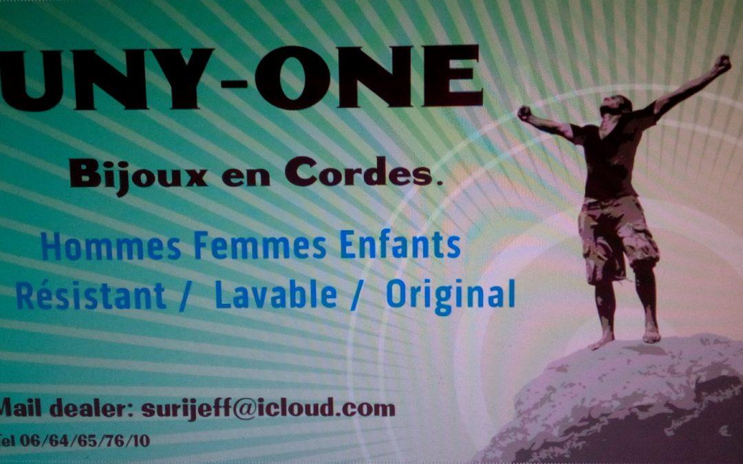 UNY-ONE nos création de bijoux hommes femmes enfants