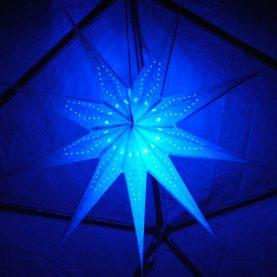 Grande étoile bleue