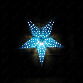 Étoile lumineuse - Projection bleu
