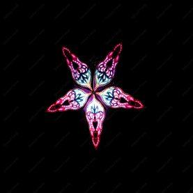 Étoile lumineuse Purple Haze